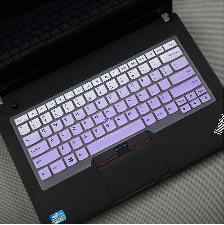 Maxsan 14 Inch Laptop Keyboard Cover for Lenovo for Thinkpad E440 E450 E455 E431 E490 E495 R480 E470 A475 A485 T490 T490S-Pink