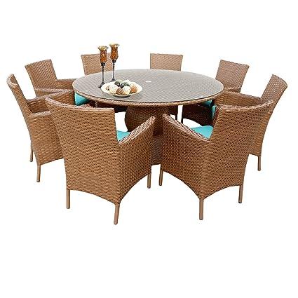 amazon com outdoor home bayou wicker 60 inch outdoor patio wicker rh amazon com
