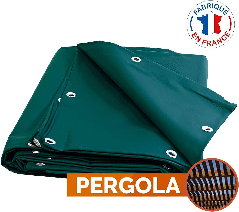 Toldo Pergola PVC 900 G/m² – 8 x 12 m – verde – lona impermeable – bache Exterieur – lona impermeable: Amazon.es: Bricolaje y herramientas