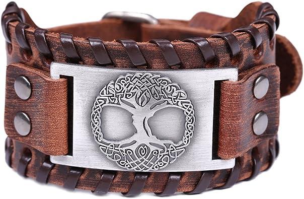 De La Viking Yggdrasil Nordique Vie Amulette Vintage Arbre qSUpMzV