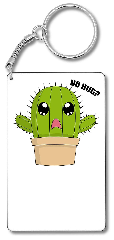 Hug Me Cactus Plant Fashioned Graphic Llavero Llavero ...
