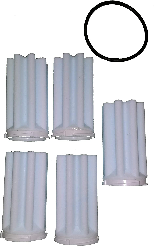 75 microns Fabriqu/é en Allemagne filtre /à huile 50 Afriso Siku Lot de 5 filtres /à huile avec joint torique