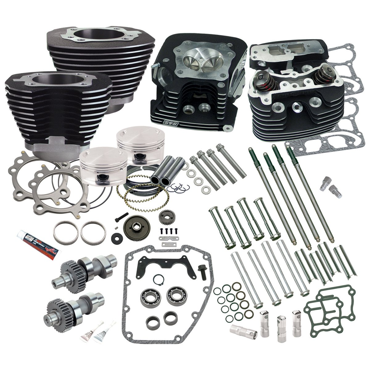 Ss Cycle 95 Hot Set Up Kit For 88 Engines 106 0214 Harley Davidson Timing Belt Automotive