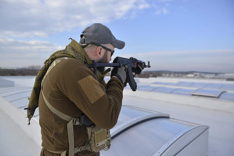 Helikon-Tex Alpha Tactical Hombre Alpha Tactical Grid color negro large BL-ALT-FG Negro Chaqueta de forro polar Chaqueta con forro polar