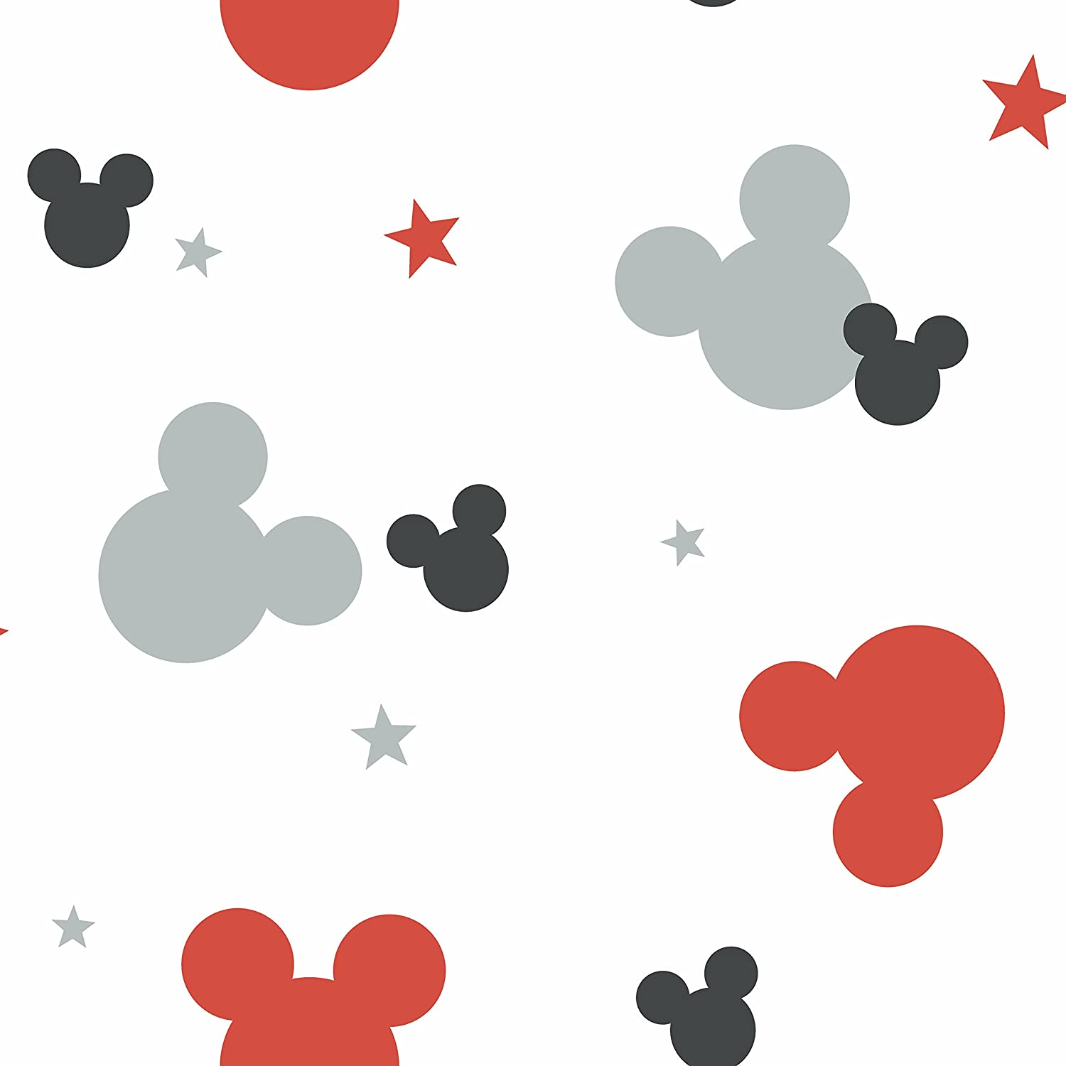 York Wallcoverings Kids Iii Disney Mickey Mouse Removable