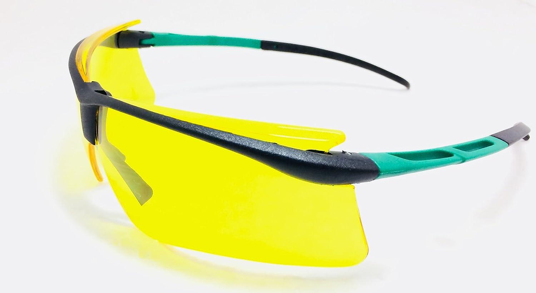 2267e330debeb Óculos de Segurança Âmbar Wind Carbografite  Amazon.com.br  Ferramentas e  Construção