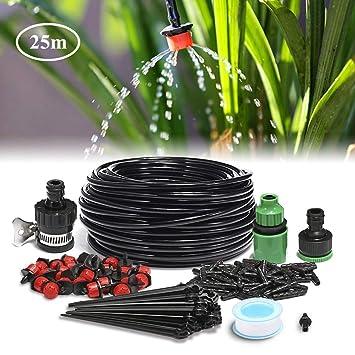 King Do Way 25m Garten Bewässerungssystem Diy Mikro Drip