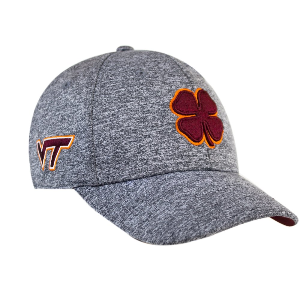 half off 50a26 d91d3 ... discount code for black clover heather maroon orange heather virginia  tech premium fitted hat at amazon