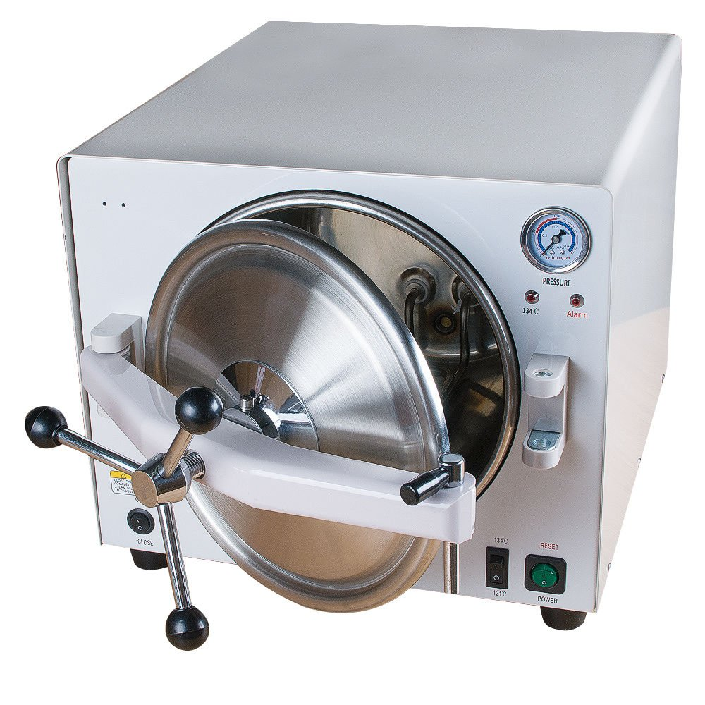 18L Bench-top Dental Autoclave Sterilizer Medical Steam Sterilizer Equipment