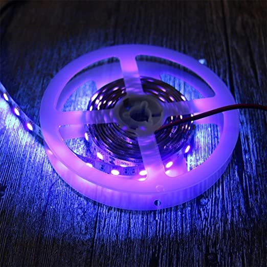 Amazon amars uv blacklights led2 m 66 amars uv blacklights led2 m 665050 smd 395 nm mozeypictures Choice Image