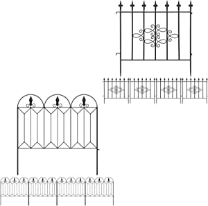 Amagabeli Garden Fence 27inx10ft Bundle Garden Fence 24inx10ft