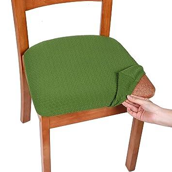 Amazon.com: Smiry - Fundas de asiento de jacquard de licra ...