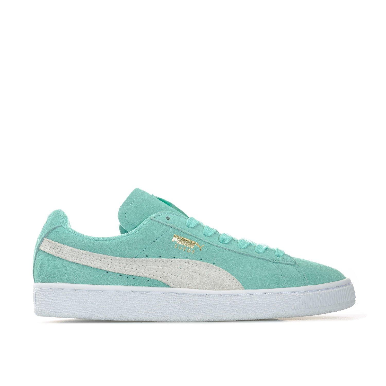 PUMA Suede Classis Women's S6, Women's Low-Top Sneakers, Green (Green/White), 5 UK (38 EU)
