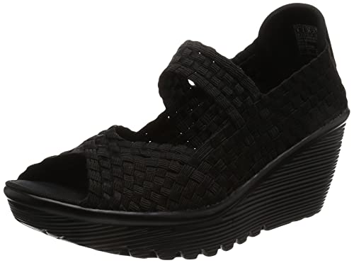 Skechers Mujer Zapatos Sandalias de cuña mujer 38522_bbk