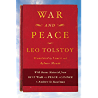 War and Peace: With bonus material from Give War and Peace A Chance by Andrew D. Kaufman (English Edition)