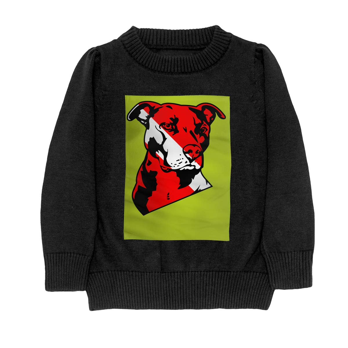 WWTBBJ-B Pit Bull Scuba Dive Style Adolescent Boys /& Girls Unisex Sweater Keep Warm