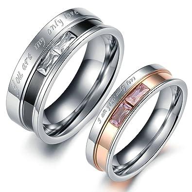 Women Size 10 His Hers Engagement Wedding Ring Set,