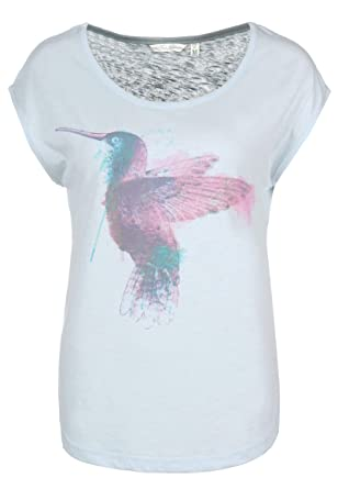 532104525af7ee Fresh Made Kolibri Shirt | Damen Rundhals T-Shirt mit Print im Vintage  Style Light