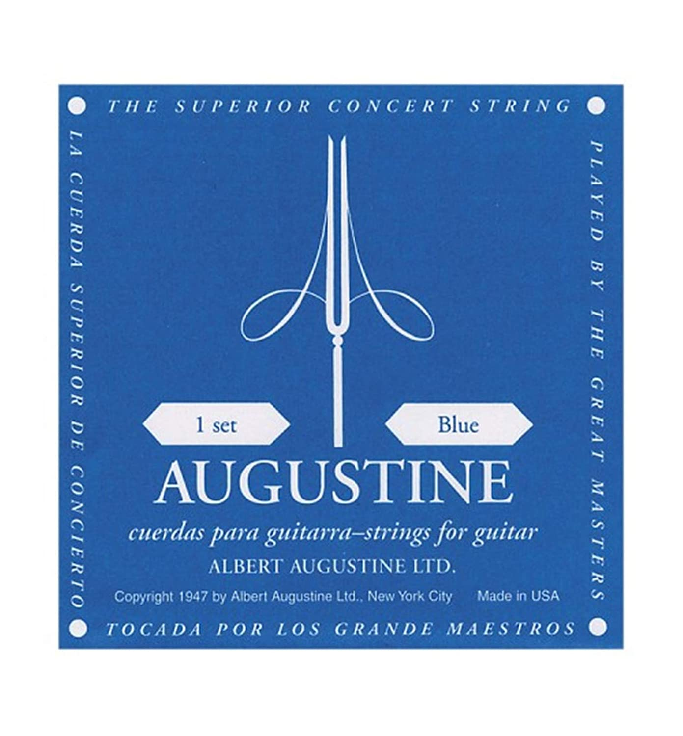 Augustine Classic Blue Classical Guitar Strings - 2 Pack 4334259342