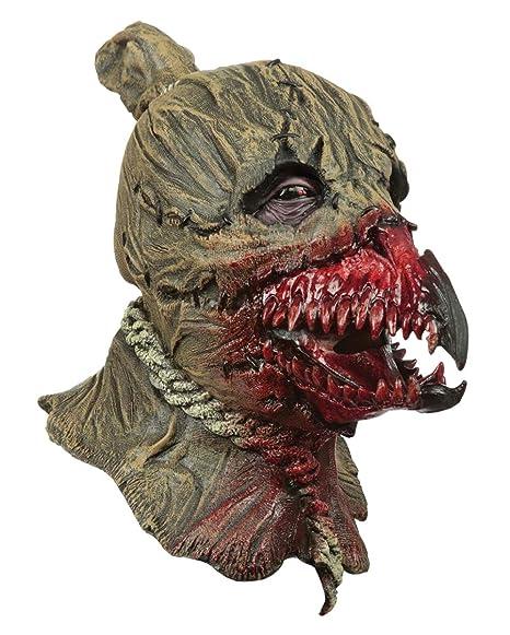 Horror-Shop Cuervo Ensangrentado En Máscara De Espantapájaros