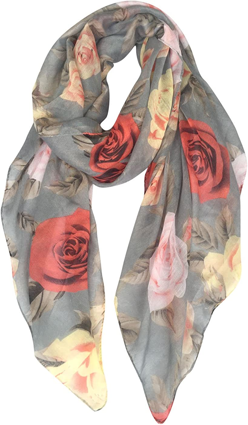 GERINLY Rose Blossom Print...