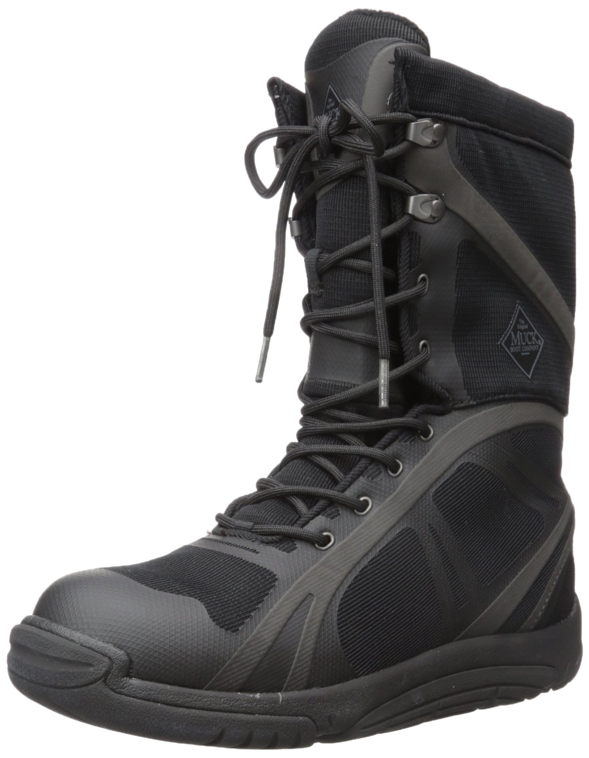 Muck Pursuit Shadow Rubber Lightweight Insulated Scent-Masking Mid-Height Men's Hunting Boots