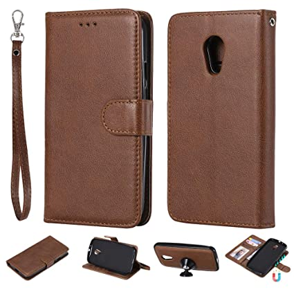 Amazon.com: IVY 2 en 1 Funda Cartera para Moto G2 ...