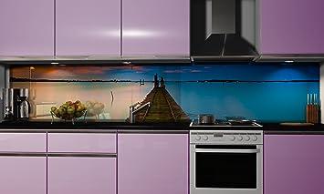 Küchenrückwand-Folie selbstklebend | Steg | Klebefolie in ...
