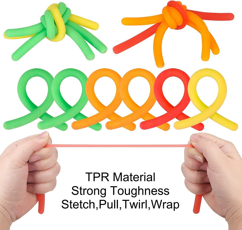 Sensory Fidget Toys 23-Pack Reusable Bag Toy Box /& Party Favor Fidget Pack Stress Relief Toys for Focus /& Calm