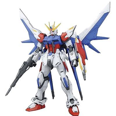 Bandai Hobby MG Build Strike Gundam Full Package Model Kit (1/100 Scale): Toys & Games