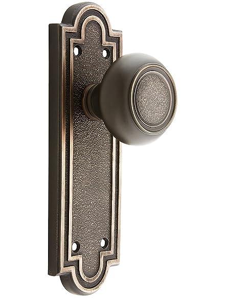 Belmont Door Set With Belmont Knobs Dummy Oil-Rubbed Bronze. Old Door Knobs.  sc 1 st  Amazon.com & Belmont Door Set With Belmont Knobs Dummy Oil-Rubbed Bronze. Old ...