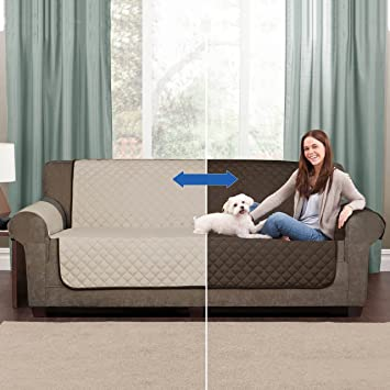 Bezug Protectrice De Sofa Couch Coatwendbar Beige Braunmax 2