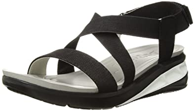 c4232ae7c4 Amazon.com | JSport by Jambu Women's Sunny Wedge Sandal | Platforms ...