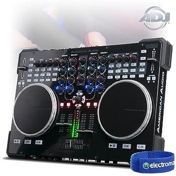 American DJ VMS5 Midi Controller 6 Channel Stand Alone: Amazon co uk