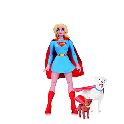 DC Collectibles Comics Designer Series Darwyn Cooke Supergirl Action Figure: Toys & Games