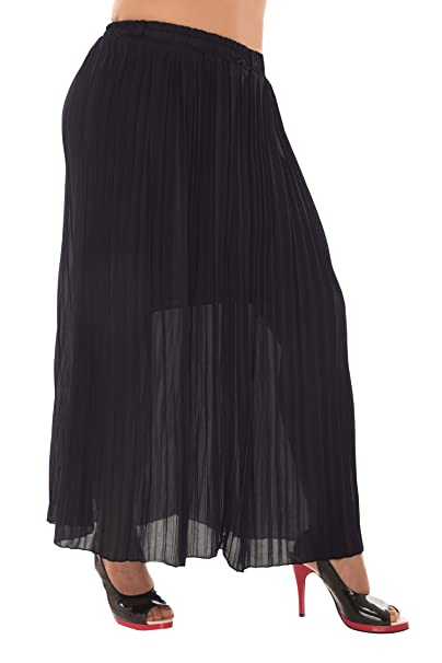 43f9dfe7e5 BARE THREADS Latest Pleated Flared Long Skirts with Inner Free Size:  Amazon.in: Clothing & Accessories