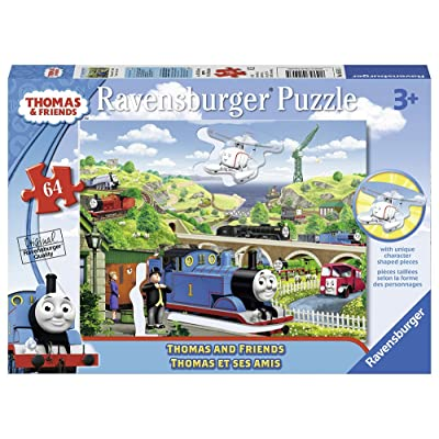 Ravensburger Thomas&Friends: Thomas & Friends Shaped Character Puzzle (64 Piece)