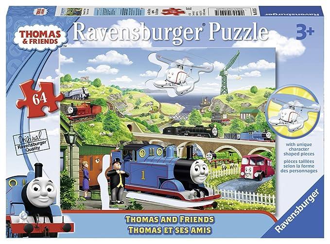 3515b6b7a7 Ravensburger Thomas Friends  Thomas   Friends Shaped Character Puzzle (64  ...