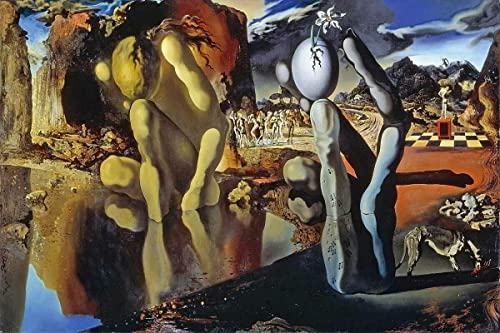 Salvador Dali 1937 Metamorphosis of Narcissu