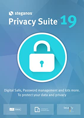 Steganos Privacy Suite 19 - Digital Safe and Password management for Windows 10|8|7 [Download]