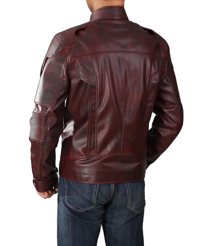 8a50809564f27 Fashions Maniac The Galaxy Faux Leather Jacket