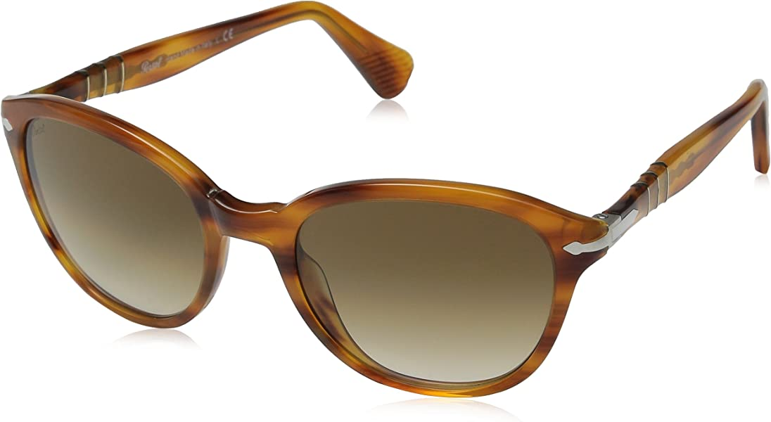 01d94e49d3 Amazon.com  Persol PO3025S Sunglasses-960 51 Brown Striped (Crystal Brown  Grad Lens)-53mm  Shoes