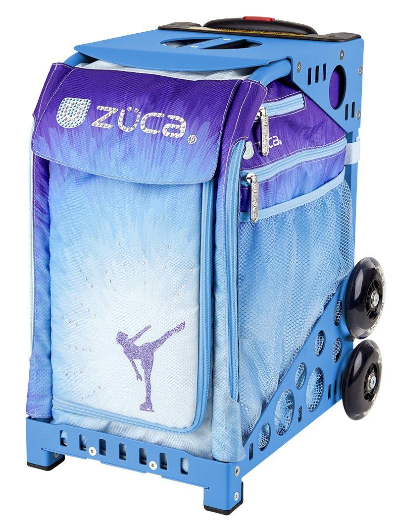 Zuca Ice Dreamz Sport Insert Bag & Purple Frame with Flashing Wheels by ZUCA