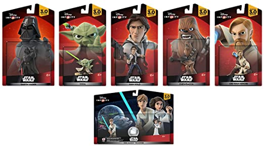 Amazon Com Disney Infinity 3 0 Rise Against The Empire Bundle Amazon Exclusive Video Games