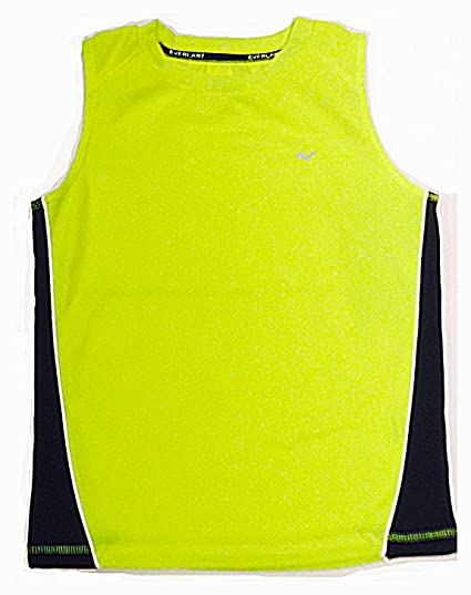 d5a74f7d73f6aa Amazon.com  Everlast Active Muscle Youth Tank Top - Large (Size  7) -  Safety Yellow  Clothing