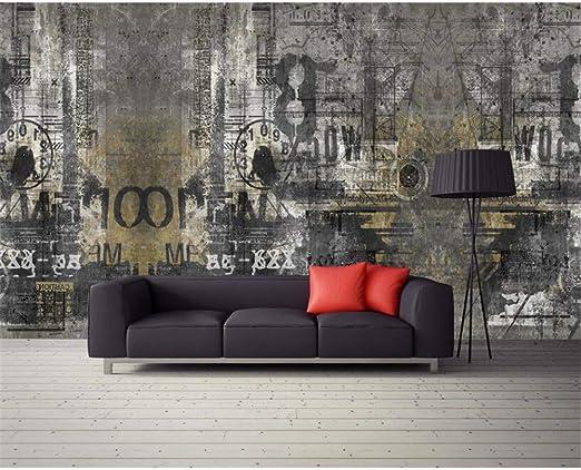 ZHENSI Fondos De Pantalla 3D Custom 3D Wallpaper Mural Retro ...