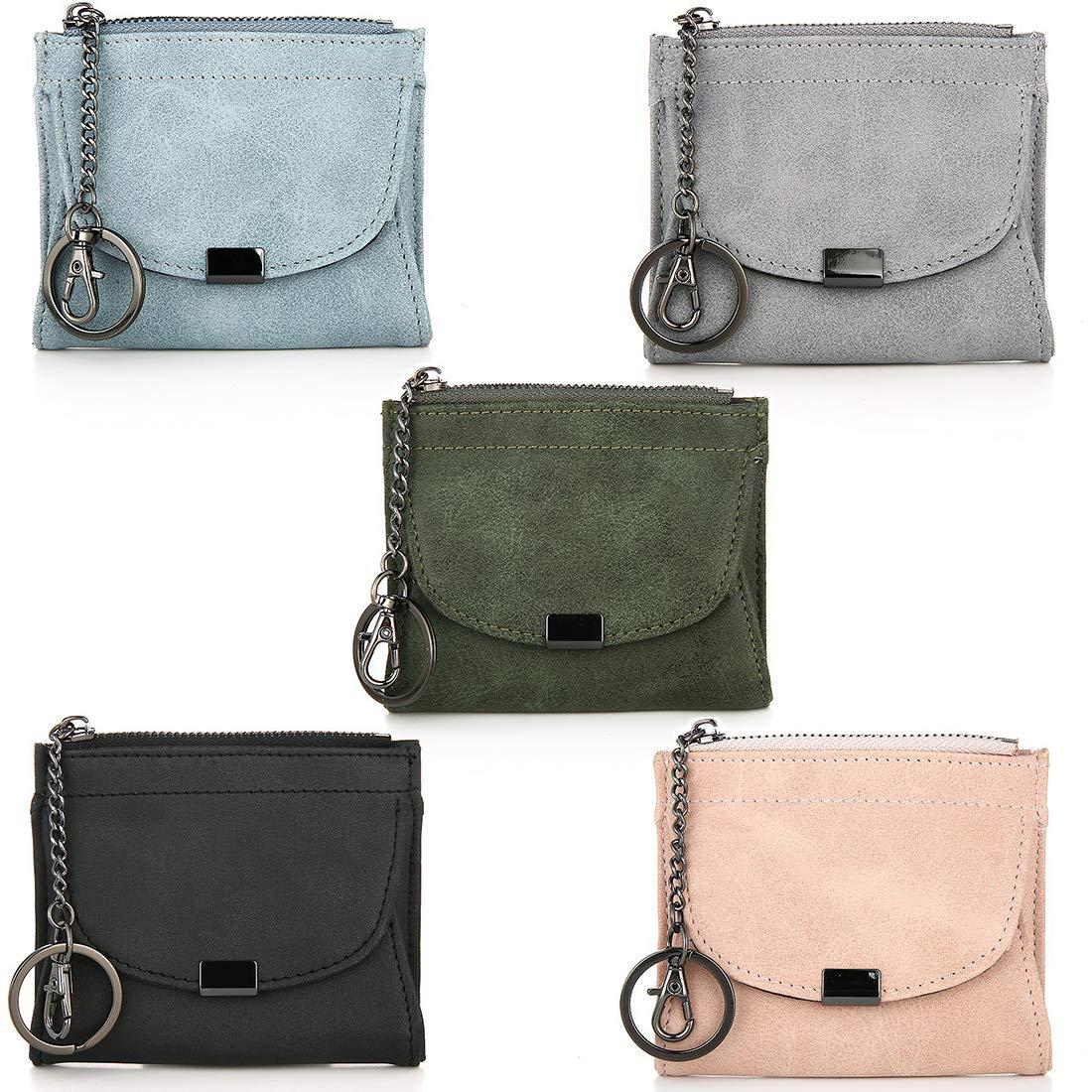 f4abd598394e Amazon.com: Lannmart Korean Fashion Women Short Wallet Zipper Lady ...