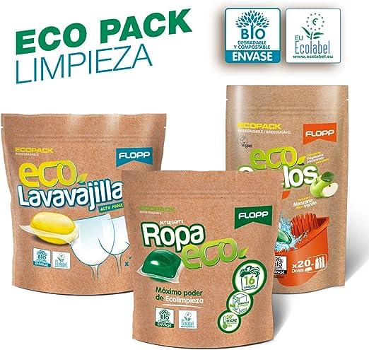 Flopp - Pack Limpieza Ecológica en Cápsulas Hidrosolubles ...