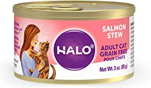 Halo Grain Free Natural Wet Cat Food