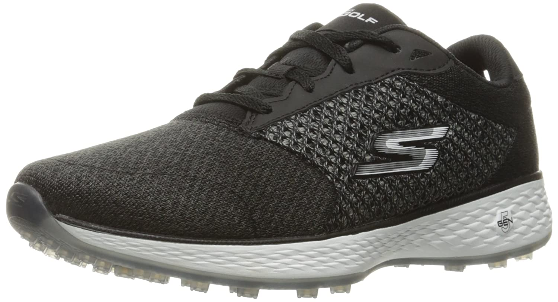 Skechers Women's Go Golf Birdie Golf Shoe B01GUVQ0TC 8.5 B(M) US Black/White Knit